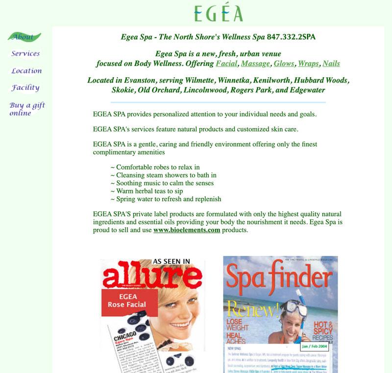 Screen Shot Egea Spa 2003